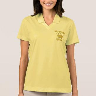 Camisa Polo Rainha do Macrame