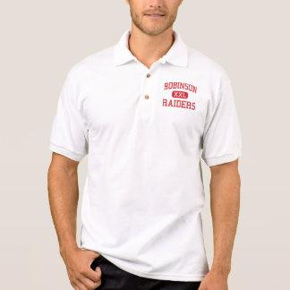 Camisa Polo Robinson - incursores - escola secundária - Topeka