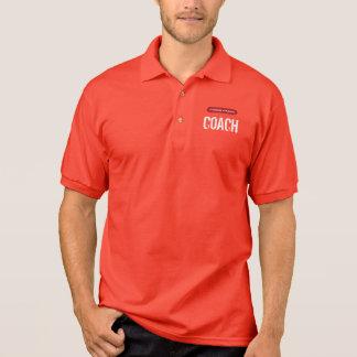 Camisa Polo TREINADOR do atletismo de Clabaugh