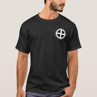 Camisa preta & branca do clã do samurai de Shimazu