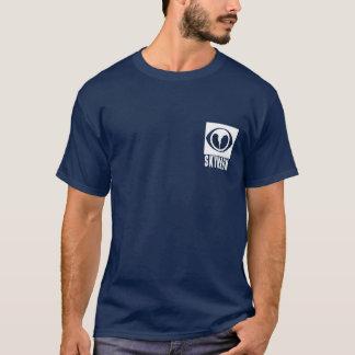 Camisa preta dos observadores da tempestade