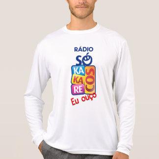 Camisa Rádio Só Kakarecos - Manga longa Branca
