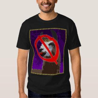 Camisa roxa do lama do drama - Anti-Drama Camisetas