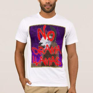 Camisa roxa do lama do drama - NENHUNS lamas do