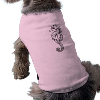 Camisa rubricada esboço do cachorrinho do cavalo camisa sem mangas para cachorro