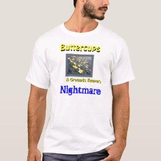 Camisa selvagem dos botões de ouro
