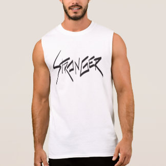 Camisa sem mangas masculina mais forte