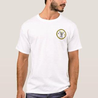 Camisa Teutonic do selo do anjo-da-guarda do