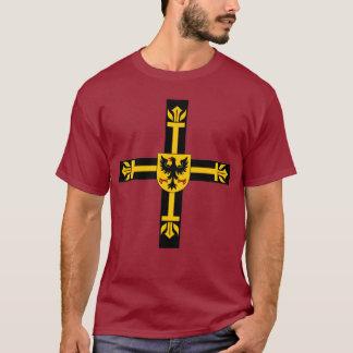 Camisa transversal dos cavaleiros Teutonic