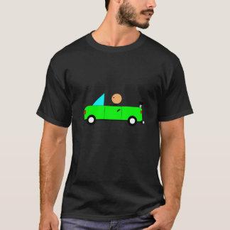 Camisa verde do carro