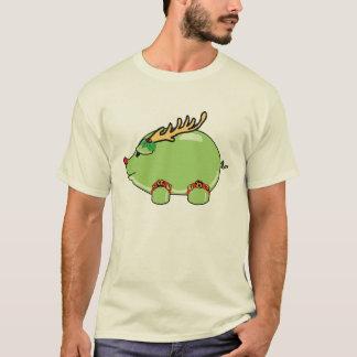 Camisa verde do porco do FERIADO (homens)