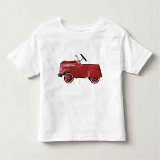 Camisa vermelha do carro do vintage t-shirt