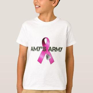 Camisas do exército do Amy