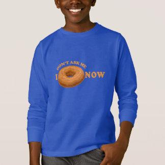 Camisas do humor da rosquinha - escolha o estilo,