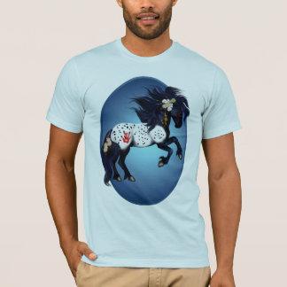 Camisas do Oval do pônei da guerra do Appaloosa