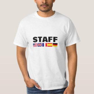 Camisas dos funcionarios T do grupo e do negócio Tshirts