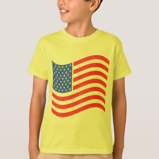 Camisas dos miúdos T e presentes patrióticos dos Camiseta