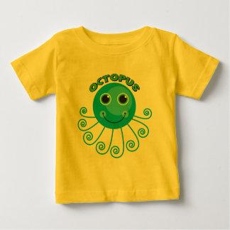Camisas e presentes do polvo T dos miúdos Camiseta