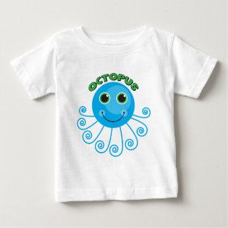Camisas e presentes do polvo T dos miúdos T-shirt