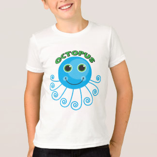 Camisas e presentes do polvo T dos miúdos Tshirts