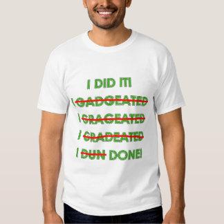 Camisas e presentes engraçados da graduação T Camisetas