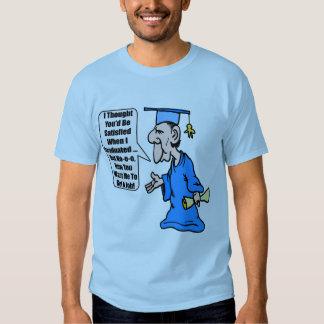 Camisas e presentes engraçados da graduação T Tshirt