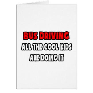 Camisas e presentes engraçados do condutor de auto cartao