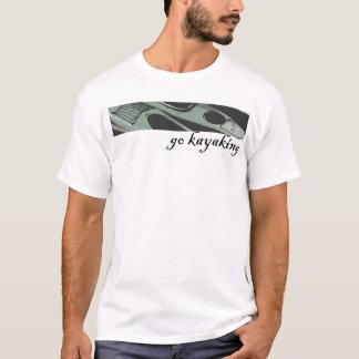 Camisas Kayaking do caiaque da camisa que remam a