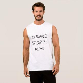 Camisas Sem Mangas Chicago ostenta a notícia
