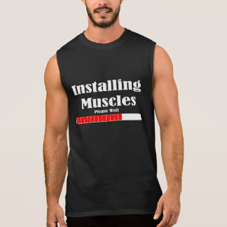 CAMISAS SEM MANGAS INSTALLING MUSCLES