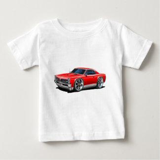 Camiseta 1966/67 de carro do vermelho de GTO