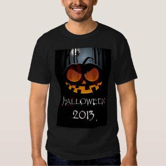 Camiseta 2013 do Dia das Bruxas com abóbora e