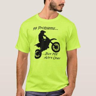 Camiseta 99 problemas mas o MX não são um! Preto no verde