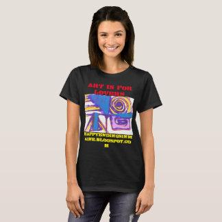 Camiseta A arte é para amantes