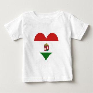 Camiseta A bandeira de Hungria