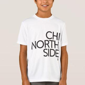 Camiseta A engrenagem do miúdo do LADO NORTE do QUI