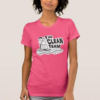 Camiseta A equipe limpa