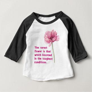 Camiseta A flor a mais rara