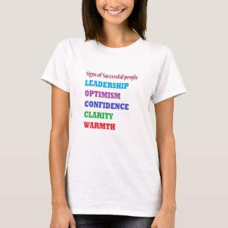 Camiseta A gestão cita palavras da sabedoria sobre a