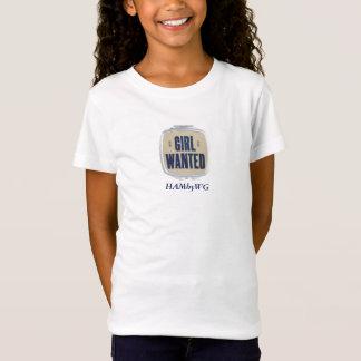 Camiseta A menina quis - a boneca cabida Bella T de HAMbyWG