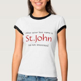 Camiseta A menos que seu sobrenome for…