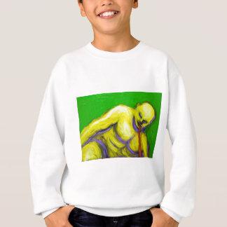 Camiseta A morte de Socrates (retrato do expressionism)