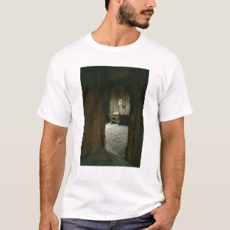 Camiseta A sala de Luther no castelo de Wartburg