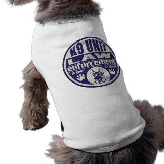Camiseta A unidade K9 nos cães nós confiamos o azul