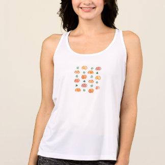 Camiseta Abóboras com camisola de alças dos esportes das