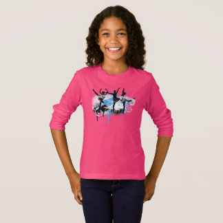 Camiseta Abstrato do dançarino (Chloe)