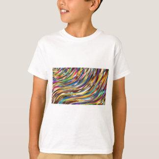 Camiseta Abstrato ondulado