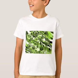 Camiseta Abstrato verde