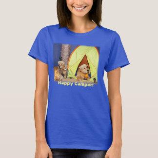 Camiseta Acampamento dos Retrievers dourados de campista