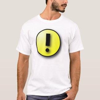 Camiseta Advertência de SAP